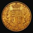 London Coins : A171 : Lot 1824 : Sovereign 1853 WW Raised on truncation, 5 over lower 5 in the date, S.3852C Good Fine with some smal...
