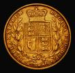London Coins : A171 : Lot 1845 : Sovereign 1861 O over lower O in VICTORIA, Fine/Good Fine, unlisted by Marsh or Spink