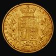 London Coins : A171 : Lot 1847 : Sovereign 1862 Small Date, Marsh 45, S.3852D, Good Fine/VF