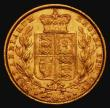 London Coins : A171 : Lot 1850 : Sovereign 1862 Wide Date, type as Marsh 45, S.3852D NVF/GVF