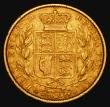 London Coins : A171 : Lot 1852 : Sovereign 1863 Marsh 48, S.3853 Die Number 14, Good Fine