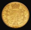 London Coins : A171 : Lot 1856 : Sovereign 1864 Marsh 49, S.3853, Die Number 57, in an NGC holder 'Douro Treasure' and grad...