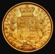 London Coins : A171 : Lot 1872 : Sovereign 1871 Shield Reverse, Marsh 55, S.3853, Die Number 77 VF/GVF