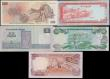 London Coins : A171 : Lot 245 : World in high grades (5) Bahamas $10 2000 P65, Brunei 10 Ringgit P15, Czech Republic 500 Korun P2, E...
