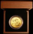 London Coins : A171 : Lot 300 : Five Pounds Gold 2013 S.SE11 BU in the Royal Mint box of issue with certificate. Of the 750 mintage,...