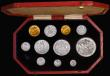 London Coins : A171 : Lot 331 : Proof Set 1902 (11 coins) Sovereign, Half Sovereign, Crown, Halfcrown, Florin, Shilling, Sixpence an...