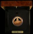 London Coins : A171 : Lot 488 : Jersey Five Pounds 2006 Sir Winston Churchill Gold Proof a few tiny contact marks otherwise FDC and ...