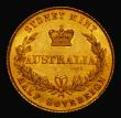 London Coins : A171 : Lot 534 : Australia Half Sovereign 1858 Sydney Branch Mint, Marsh 383 EF/AU the obverse with a small minting f...