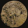 London Coins : A171 : Lot 648 : Ireland, 17th Century Ireland - Wexford Penny Token, undated, Isak Freeborn W.744 Fine, unevenly ton...