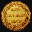 London Coins : A171 : Lot 729 : Swiss Cantons - Bern Gold Duplone 1796 Obverse: Crowned round arms of Bern, Reverse DEUS PROVIDEBIT ...