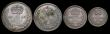 London Coins : A171 : Lot 906 : Maundy Set 1940 ESC 2557, Bull 4309, comprising Fourpence EF/AU the obverse with heavy toning and so...
