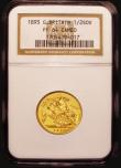 London Coins : A172 : Lot 1007 : Half Sovereign 1893 Proof S.3878 choice FDC and graded PF64 CAMEO by NGC