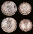 London Coins : A172 : Lot 1098 : Maundy Set 1800 ESC 2421, Bull 2239 comprising Fourpence EF, Threepence EF with an unevenly struck e...
