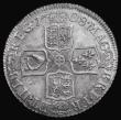 London Coins : A172 : Lot 1189 : Shilling 1708 Third Bust ESC 1147, Bull 1399 UNC a most attractive example with good underlying mint...