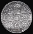 London Coins : A172 : Lot 1191 : Shilling 1718 Roses and Plumes ESC 1165, Bull 1566 GEF and lustrous in an LCGS holder and graded LCG...