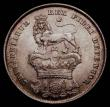 London Coins : A172 : Lot 1205 : Shilling 1825 Lion on Crown Reverse ESC 1254, Bull 2405, Davies 230 dies 1A. Lustrous and with hints...