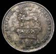 London Coins : A172 : Lot 1207 : Shilling 1826 ESC 1257, Bull 2409, a choice example with original lustrous surfaces the obverse with...