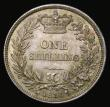 London Coins : A172 : Lot 1211 : Shilling 1836 ESC 1273, Bull 2494 Choice UNC with a subtle green and gold tone, in an LCGS holder an...