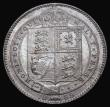 London Coins : A172 : Lot 1230 : Shilling 1889 Large Jubilee Head ESC 1355, Bull 3142, Davies 987 dies 3D Truncation slightly away fr...