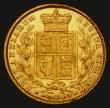 London Coins : A172 : Lot 1331 : Sovereign 1860 Inverted A for V in VICTORIA, 1 over inverted 1 in the date, giving the appearance of...