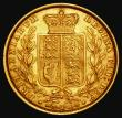 London Coins : A172 : Lot 1332 : Sovereign 1860 Large 0 in date, Marsh 43, S.3852D VF/NEF