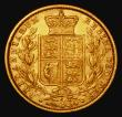 London Coins : A172 : Lot 1352 : Sovereign 1873S Shield Reverse, Marsh 71, S.3855, Fine/NVF