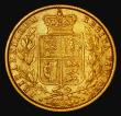 London Coins : A172 : Lot 1355 : Sovereign 1875S Shield Reverse, Marsh 72, S.3855, Fine/Good Fine