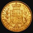 London Coins : A172 : Lot 1361 : Sovereign 1880S Shield Reverse, Inverted A for V in VICTORIA, unlisted by Marsh, S.3855 GVF/EF the r...