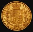 London Coins : A172 : Lot 1362 : Sovereign 1880S Shield Reverse, Marsh 76, S.3855 Fine/Good Fine
