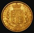 London Coins : A172 : Lot 1379 : Sovereign 1886S Shield Reverse, Marsh 82, S.3855B, Fine/Good Fine