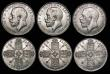 London Coins : A172 : Lot 1544 : Florins (6) 1887 Jubilee Head, 1901, 1914, 1915, 1916, 1923 EF to A/UNC all lustrous