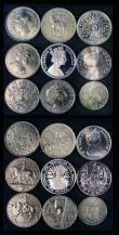 London Coins : A172 : Lot 1556 : Half Sovereigns (2) 1909 Marsh 512 Good Fine/Fine, 1911 Marsh 526 Near VF, Crowns (4) 1937 VF/GVF, 1...