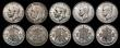 London Coins : A172 : Lot 1559 : Halfcrowns (10) 1911 ESC 757, Bull 3709 Fine/Good Fine. 1912 ESC 759, Bull 3711 (2) the first NVF wi...