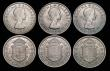 London Coins : A172 : Lot 1563 : Halfcrowns (7) 1940 ESC 1830, Bull 4227 Lustrous UNC with some minor contact marks, 1942 ESC 792, Bu...