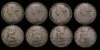 London Coins : A172 : Lot 1577 : Halfpennies (8) 1861 (6) some with varieties unclear, 1862, 1864 Near Fine to VF