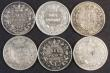 London Coins : A172 : Lot 1630 : Sixpences (6) 1866 ESC 1715, Bull 3213, Die Number 31 VG/NF, 1872 ESC 1726, Bull 3226, Die Number 16...