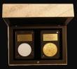 London Coins : A172 : Lot 406 : Gibraltar Sovereign 2019R Museum Edition Gold Reverse Frosted Proof, struck in the Italian Mint of Z...