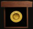 London Coins : A172 : Lot 478 : Solomon Islands Fifty Dollars 2019 St. Paul's Cathedral Gold Proof, 100 grams of .999 pure gold...
