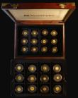 London Coins : A172 : Lot 488 : The Smallest Gold Coins in the World a 24-coin set 1983-1998 comprising Proof and UNC issues from Ca...