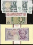 London Coins : A172 : Lot 50 : Twenty Pounds 1999 issue B375 Kentfield YR19 990905 Faraday C137 Debden set UNC in the wallet of iss...