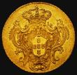 London Coins : A172 : Lot 532 : Brazil 640 Reis Gold 1781R KM#199.2 NEF/EF the reverse retaining some mint lustre, an attractive and...