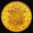 London Coins : A172 : Lot 579 : German States - Hannover 10 Thaler 1846B Hannover Mint, No signature on truncation KM#200.3 NEF with...