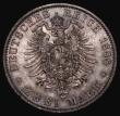 London Coins : A172 : Lot 581 : German States - Prussia 2 Marks 1888A KM#510 UNC and attractively toned with underlying lustre and v...
