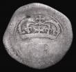 London Coins : A172 : Lot 611 : Ireland Threepence undated (1643-44) Ormonde Money S.6549, 1.31 grammes, Fair/About VG on an irregul...