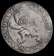 London Coins : A172 : Lot 631 : Netherlands - Holland, Lion Daalder 1601 KM#17 signs of old light tooling in the shield, Near Fine