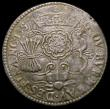 London Coins : A172 : Lot 635 : Netherlands Jetton 1557 Billon 29mm diameter, Obverse: Three shields crowned, CONCORDES. SERVAT. AMI...