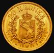 London Coins : A172 : Lot 640 : Norway 20 Kroner Gold 1902 KM#355 UNC and lustrous, the obverse with a very light adjustment line, a...