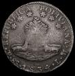 London Coins : A172 : Lot 643 : Philippines 8 Reales Isabell II with crowned Y.II countermark on Bolivia 8 Soles 1834 PTS KM#987 cou...
