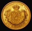 London Coins : A172 : Lot 682 : Sweden 20 Kronor Gold 1899 EB KM#748 Lustrous UNC