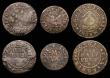 London Coins : A172 : Lot 717 : 17th Century Kent - Canterbury (7) Halfpenny James Cheever 1664 W.50 Fair, Halfpenny Thomas Enfield ...